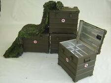 BW Zarges SCATOLA a10 60x40x50 cm box contenitore cassetta degli attrezzi in alluminio Esercito Tedesco