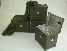 Alu Kiste Box Werkzeugkiste Lagerbox Maschinenkoffer Funk BW Alukasten Alukoffer