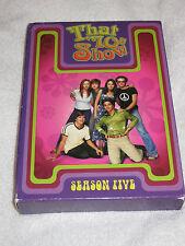 That 70s Show - Season 5 (DVD, 2006, 4-Disc Set)  Ashton Kutcher      LN