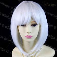 Wiwigs STUNNING Short Snow White Bob Skin Top Cosplay Ladies Wig