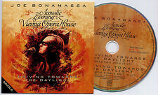 JOE BONAMASSA Driving Towards The Daylight Acoustic UK 2-trk promo CD card slv