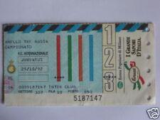 INTER - JUVENTUS BIGLIETTO TICKET 1992 / 93