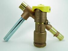 "1"" Commercial Quality 2 Piece Locking Brass Quick Coupler Valve And Key"