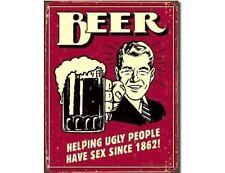 Funny Beer Refrigerator / Tool Box Magnet  Gatta See!