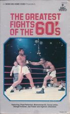 The Greatest Fights of the 60's *BOXING* Muhammad Ali, CBS ABC Video BIG BOX VHS