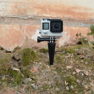 Outdoor Camera Tripod Stand Holder For Gopro XiaoYi for Beach Wild Soil Sand