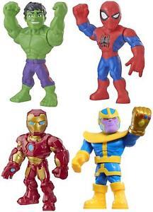 Playskool Marvel Superhero Adventures 10 inch Mega Mighties Action Figures