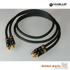 ViaBlue 2x 1m Cinch-Kabel NF-A7 T6s...High End...Bester Preis für besten Klang