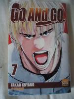 ****** Go and Go Tome 7 ******, Takao Koyano base ball MANGA VF SERIE EN VENTE