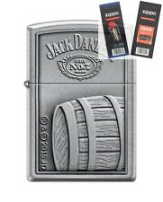 Zippo 5720 Jack Daniels Lighter with *FLINT & WICK GIFT SET*