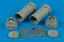 Aires 1/72 F-14A Tomcat exhaust nozzles closed for  Fujimi kits  # 7178