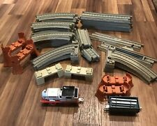 Thomas The Train Trackmaster  45 Pieces Of Track- Stanley- Freight Car And More