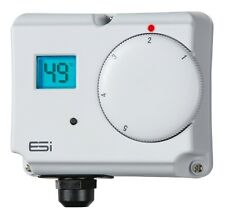 ESI ESCTDE ELECTRONIC ENERGY SAVING DUAL CYLINDER THERMOSTAT LCD DISPLAY