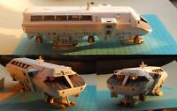 A Space Odissey Rocket Bus Moonbus Handcraft  DIY Paper Model Kit Toy Gifts