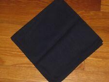 One Longaberger Indigo Dark Blue Fabric Napkin Euc Usa
