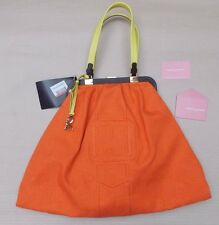 ROBERTA DI CAMERINO ORANGE SHOPPING TOTE BAG>BNWT>£475+>GENUINE>HANDBAG>SHOULDER