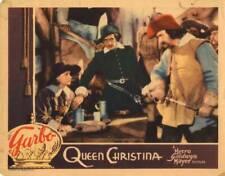 OLD MOVIE PHOTO Queen Christina Lobby Card Greta Garbo John Gilbert Sig