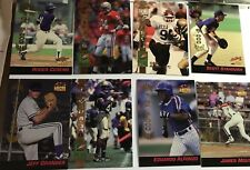 (8) 1994 Signature Rookies Cards (Basebal/Football) LE