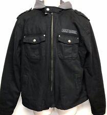 Men's Harley Davidson 3-in-1 Jacket with Hooded Vest Willie G Skull Coat Large