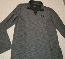 Under Armour Threadborne Men's Heat Gear Long Sleeve 1/4 Zip Pullover Size Large