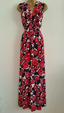 Marks & Spencer Plus Size Floral Sleeveless Dresses for Women
