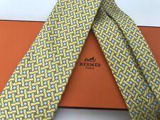 Hermes 100% Silk Tie. Never Worn.
