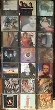 cd 90s Pop / Rock lot - 33 Discs - Oasis, Rem Skid Row, Living Colour, Bon Jovi