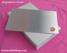 "Magnesium Sheet, 8"" x 5"", Free Shipping"