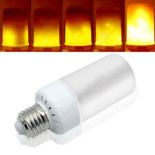 E27 LED Flicker Flame Fire Effect Light Bulb Warm White Christmas Decor Lamp