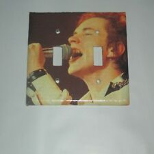 JOHNNY ROTTEN THE SEX PISTOLS METAL ROCK LEGEND 2 HOLE Light Switch Cover Plate
