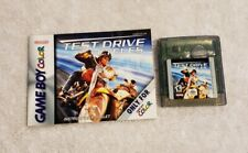 Test Drive Cycles Nintendo Game Boy Color GAME AND MANUAL