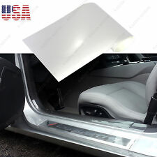 "6"" x 60"" Car Clear Door Sill Edge Paint Protection Anti-Scratch Vinyl Film Sheet"