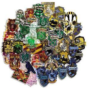 50pcs Hogwarts School of Witchcraft, Wizardry Logo Graffiti Sticker Harry Potter