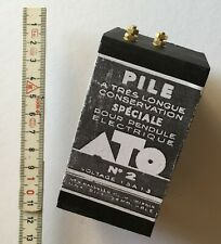 Batterie, battery R20 Adapter, ATO, Pile HATOT, pendule electrique, Bulle Clock