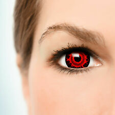 "Maxi Sclera Lenses ""Cataclysm"" Kontaktlinsen Crazy Fun Farbige Halloween Linsen"