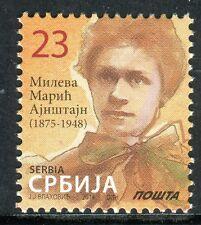 0630 SERBIA 2014 - Mileva Maric Einstein - MNH Set - Definitive Stamps