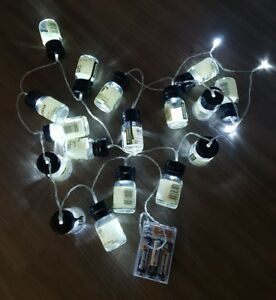 20 LED Whiskey Minature Lights From £200 Advent Drinks by the Dram