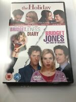 Bridget Jones's Diary/Bridget Jones - The Edge Of Reason/The Holiday DVD Sealed