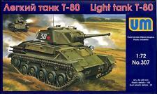 UM-MT Models 1/72 Soviet T-80 LIGHT TANK