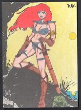 RED SONJA TRADING CARDS (BREYGENT/2012) LINE ART CARD #RS-1 DAVID DAY