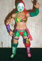 WWE WRESTLING FIGURE MATTEL ELITE ASUKA WITH ENTRANCE MASK DIVAS