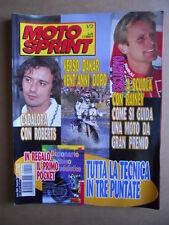 MOTOSPRINT n°1/2  1998   [Q79A] CADALORA KENNY ROBERTS