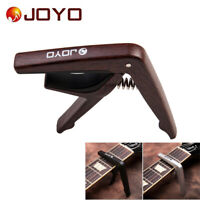 Single-handed Guitar Capo Clamp Quick Change for 6-String Guitar w/ Guitar Picks