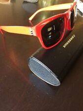 4c952eaf7ae6 Burberry Sunglasses Red   signature pattern B419F 3364 87 NEW! Fast  Shipping!
