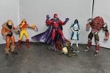 Marvel Legends Magneto, Mystique, Pyro and Sabretooth with X-Men Juggernaut
