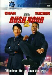 Rush Hour 2 DVD Jackie Chan Chris Tucker
