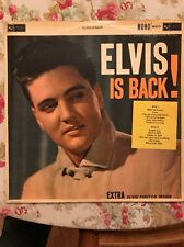 ELVIS PRESLEY ELVIS IS BACK rca mono 27171 RARE GF LP- ENGLAND NM-1ST-SIGNATURE!