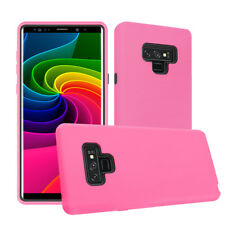 Slim Galaxy Note 9 Case with Flexible Inner Protection & Hard Bumper Frame Cover