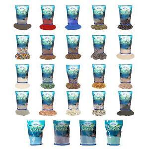 6 x Roman Gravel Aquatic Aqua Blend Mix Aquarium Stones Fish Tank 2kg