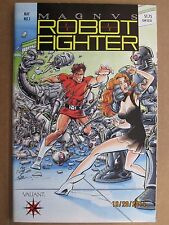 1991 VALIANT COMICS MAGNUS ROBOT FIGHTER #1 WITHOUT COUPON